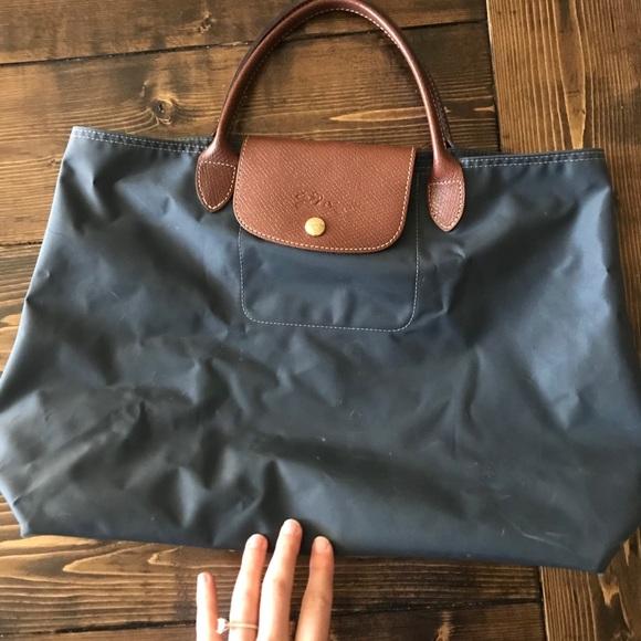 Longchamp Le Pliage no zipper tote (discontinued)
